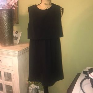 Sz Xl sleeveless blk dress xhilaration NWOT